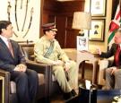 الملك يلتقي رئيس أركان الجيش الباكستاني