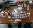 ضبط مخدرات وأسلحة نارية في عجلون