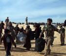 حرس الحدود تستقبل 215 لاجئاً سورياً