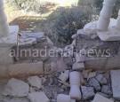 """العثور على قذيفة سورية اصابت """" فيلا """" في الرمثا"""