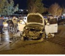 """قيادة """"متهورة"""" تتسبب بحادث مروع في شارع الجامعة الأردنية"""