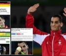"""صحف عالمية تهتم بإنجاز البطل الأردني """"أبو غوش"""" في الأولمبياد"""