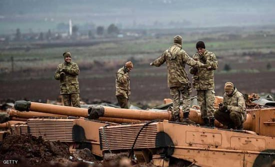 مقتل جنديين تركيين بقصف لمسلحين أكراد