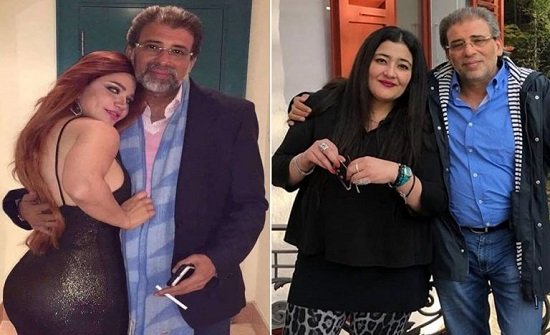 ياسمين الخطيب تتحدث عن فيديوهات خالد يوسف وتصف زواجه منها بـ(اللعنة)