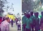 فيديو: حريق فندق يقيم فيه المنتخب السعودي