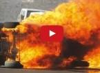 فيديو : صراخ وبكاء مفحط سعودي قاد سيارته بسرعة جنونية حتى احترقت