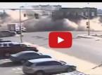 سائق يتسبب في انهيار مبنى بالكامل!