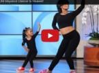 بالفيديو: طفلة في الثالثة من عمرها تنافس «بيونسيه» في الرقص