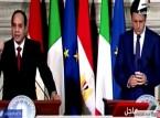 رئيس وزراء إيطاليا والسيسي