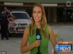فيديو: اعتقال لص أثناء تقرير إخباري على الهواء