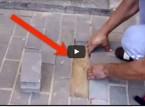 بالفيديو : عائلة سمعت شيئاً تحت الرصيف شيء لا يُصدّق !