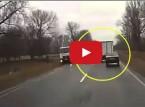سائق يتعرض لأغرب حادث