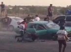 فيديو: كارثة خلال تفحيط سيارة