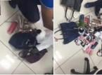 لحظة ضبط فتيات حاولن سرقة محل إكسسوارات