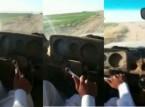 شاهد.. سعودي يقود سيارة بدون مقود