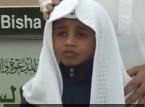 فيديو  : طفل يقلد ياسر الدوسري