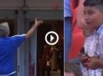 شاهد.. مورينيو يستغني عن ميداليته الفضية لطفل من الجماهير