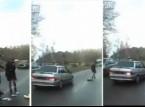 شاهد: فتاة روسية خارقة مقاومة للصدمات