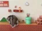 شاهد.. فأر يلعب سوبر ماريو