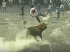 بالفيديو: شاهد أغرب الاحتفالات بمصارعة الثيران