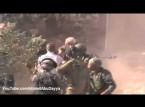 شاهد.. شاب فلسطيني يضرب جندي صهيوني كف على وجهه