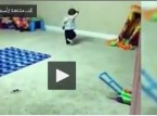 شاهد اصغر طفل في العالم  يرقص الدبكة