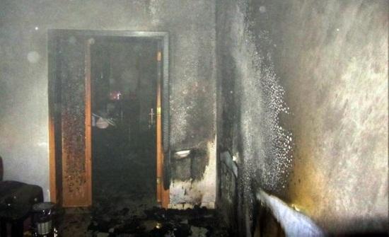 عمان : اصابة شخص اثر احتراق في شقة بتلاع العلي والأمن يحقق
