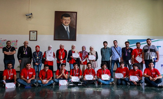 جامعة الأميرة سمية  تحصد 6 من أصل 10المراكز الاولى في مسابقة عمان الوطنية للبرمجة