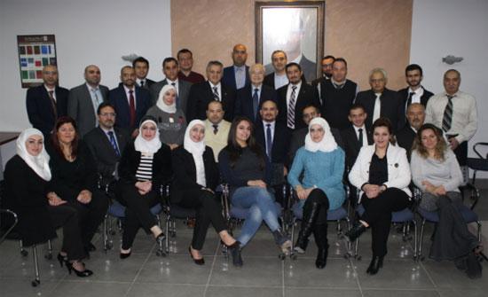 """بحث سبل تنمية خدمات """"مجموعة أبوغزاله"""" في سوريا"""