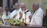 بالفيديو :  التسجيل الكامل لقداس سفارة الفاتيكان بمناسبة انتخاب البابا فرنسيس