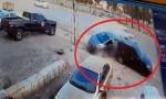 بالفيديو : شاهد كيف وقع حادث سير في عمان