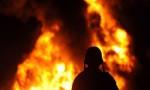 إخماد حريق وسط مدينة عجلون
