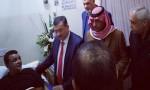 فيديو وصور : وفد من أبناء مدينة السلط يزور مصابي التفجيرات