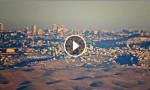 بالفيديو : هكذا بدت القدس والاقصى من مادبا صباح الجمعة