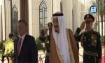 بالفيديو: استقبال خادم الحرمين الشريفين للملك عبد الله الثاني في الرياض
