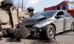 ١٠ اصابات في حادث تصادم بالرويشد
