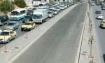 """تحويل السير على تقاطع الدوريات الخارجيه في صويلح .. لاستكمال """" الباص السريع """""""