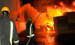 إخماد حريق خزان محروقات داخل محطة توليد الكهرباء في طبربور