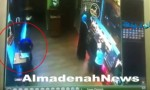 بالفيديو : لحظة سرقة موبايل من مطعم بعمان