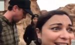 فيديو : شاهدوا كيف تعامل السياح مع سيول البترا