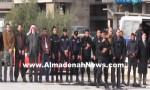 بالفيديو : رجل أمن أردني يصلي بقيادات الأخوان صلاة العصر