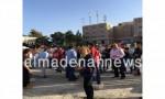 بالفيديو : مشاهد احتفالات من أمام مركز الفرز الرئيسي في البلقاء