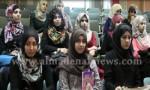 بالفيديو : طالبات من جامعة الأونروا في شرفة مجلس النواب