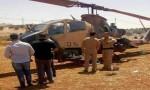 بالفيديو والصور : طائرة عامودية تهبط اضطراريا في المفرق