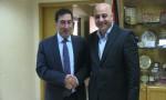رئيس مجلس النواب يستقبل الدكتور فطين البداد