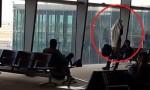 بالفيديو : متدين يهودي يقيم صلاته في مطار الملكة علياء الدولي