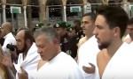 بالفيديو : الملك والأمير حسين يؤديان مناسك العمرة