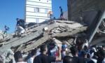 """العناية الالهية تنقذ سكان عمارة  """" انهارت """" في عمان"""