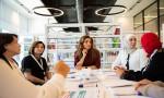 الملكة رانيا العبدالله تتابع سير عمل أكاديمية الملكة رانيا لتدريب المعلمين