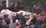 بالفيديو  : تشييع جثمان الطفلة نيبال